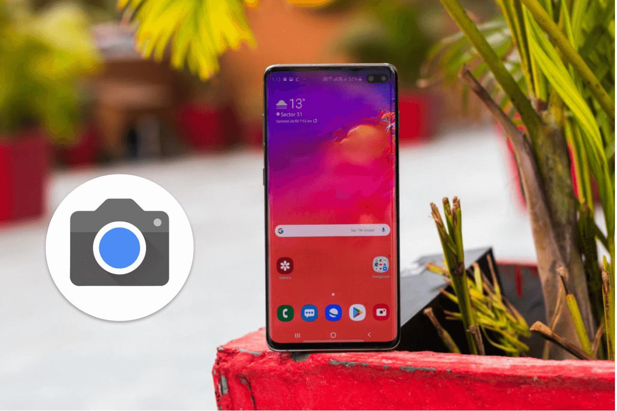 كيفية تثبيت camera google على سامسونج جالاكسي S10